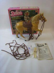 1980 Mattel Barbie's Horse Dallas 3312 NM in original box #PC308