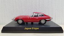 1/64 Kyosho JAGUAR E-TYPE RED diecast car model