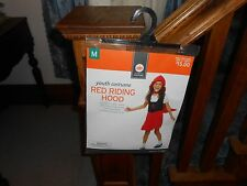 Youth Little Red Riding Hood Medium M Halloween Costume New NIB Halloween Child