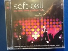SOFT. CELL.        SAY. HELLO.  WAVE. GOODBYE.   LIVE.       TWO. DISC. BOXSET