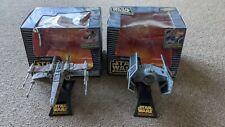 Star wars action fleet X-Wing/Darth Vaders Tie Fighers