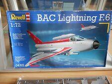 Model kit Revell BAC Lightning F.6 on 1:72 in Box