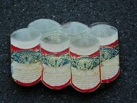VINTAGE METAL PIN SIX 6 PACK OF BEER CANS