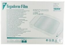 (15 PACK) 3M TEGADERM 1626W TRANSPARENT FILM DRESSING WATER PROOF (Exp 2019)