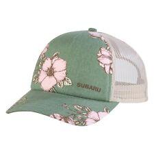 Genuine Subaru Logo Ladies Floral Cap Hat Impreza STI Ascent Forester Outback ++
