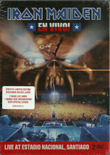 IRON MAIDEN - EN VIVO! * 2 DVD * STEEL CASE SIGILLATO * LIMITED EDITION