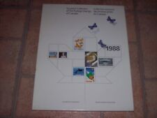 Rare 1988 Souvenir Collection - The Postage Stamps of Canada
