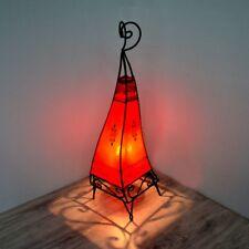Orientalische Hennalampe Stehleuchte Orient Lampe Marokko Lederlampe LSC_R H63