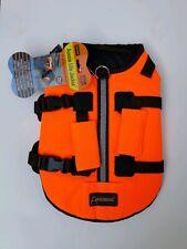 Outback Jack Dog Life Jacket by Hyper Pet, Orange, Medium