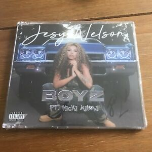Jesy Nelson - Boyz -  ft Nicki Minaj Little Mix Cd Signed Autographed