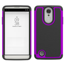 For LG Aristo / LV3 / K8 2017 Case Hard Silicone Hybrid Shockproof Phone Cover