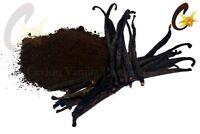 Extract Quality Grade A/B Madagascar Vanilla Bean Powder (Ground)