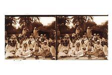Afrique du Nord Maghreb Algérie Tunisie Maroc Orientalisme Plaque stéréo Vintage