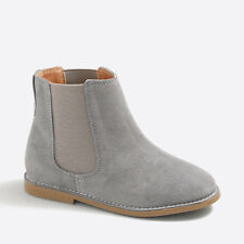 Crewcuts Girls' Chelsea Ankle Boots #E1981 Fossil Grey K4