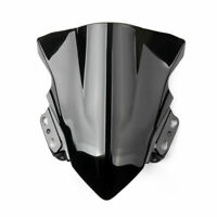 ABS Motorcycle Windshield Windscreen For Kawasaki Ninja 250SL 2014-2017 Black A0