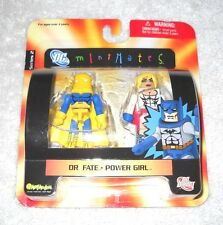 DC Minimates - Dr. Fate and Power Girl - MOC 100% complete (Art Asylum)