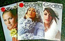Gedifra Highlights 022 023 032 Knitting Pattern Books