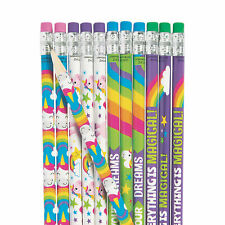Unicorn Pencils - 24 Pc. - Stationery - 24 Pieces