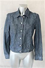 jolie veste en jeans femme TRUSSARDI JEANS taille 40 TBE satisfaite/remboursée