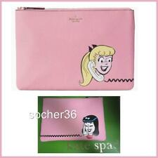 Kate Spade X Archie Comics Betty Veronica Zip Clutch Pouch Last 1