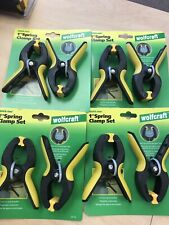 spring clamp set 8 Clamps By Wolfcraft