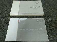 2011 Nissan Versa Sedan Hatchback Owner Owner's Manual User Guide S SL 1.6L 1.8L