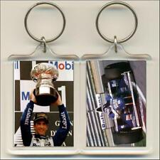 F1 Champions. 1996 Damon Hill. Keyring / Bag Tag.