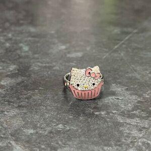 Genuine SWAROVSKI® SANRIO collaboration Hello Kitty Design ring: Size: 55