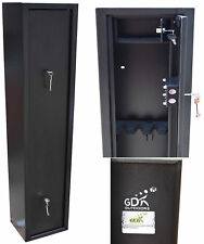 4 GUN CABINET WITH INNER AMMO SAFE, FOR SHOTGUNS, RIFLES, GUN SAFE,  ZC-4GUN-S
