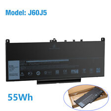New listing 7.6V 55Wh Battery Mc34Y 242Wd J60J5 For Dell Latitude E7270 E7470 Replacement