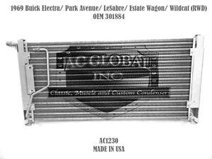 1969 Buick Electra LeSabre Estate Park Avenue 3017884 AC CONDENSER AC1230