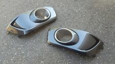 SUBARU LIBERTY 01 02 03 RH & LH FOG LIGHT SURROUNDS FRONT BAR B4 HERITAGE RX BE5