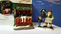 DEPT 56 Dickens Village THE BIG PRIZE TURKEY Set of 2!  Christmas Carol
