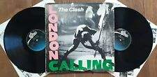 The Clash London Calling RARE USA 1979 1ST PRESS  DOUBLE LP EPIC E2 36328