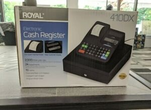 *SAME DAY SHIPPING* Royal 410DX Electronic Cash Register NEW
