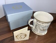 Official Royal Wedding Prince William Kate Middleton Commemorative Cup 2011