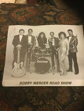 Vintage Photo Booby Mercer Road Show