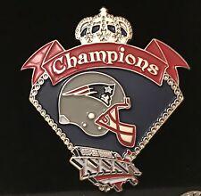 New England Patriots Super Bowl 36 Champions Pin
