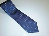 Uomo Venetto Mens Silk Tie No Flaws very nice purple blue italian