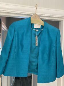 jacques vert bolero jacket Turquoise