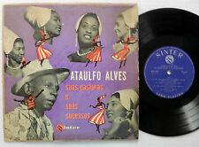 """ATATULFO ALVES Suas Pastoras e Seus Sucessos Brazil 10"""" LP 1956 AUTOGRAPHED!"""