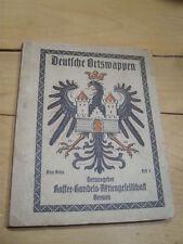 Sammelbilderalbum Deutsche Ortswappen Heft 3 (105)