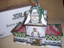 "Dept 56 ""Hall Of Records"" North Pole Village"