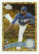 2011 Rubby De La Rosa (RC) - Topps Update Cognac - Dodgers/Red Sox
