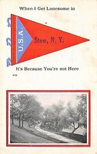 """""""I Get Lonesome"""" in Stow New York~Because You're Not Here~Lonely Path~1916 PC"""