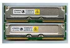 Kingston/Compaq 512MB (2x256MB) PC800 ECC RDRAM RIMM KTC800E2/512, 157341-B21