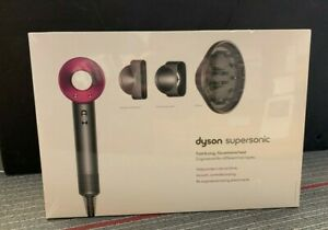 NEW!! Dyson Supersonic Hair Dryer with Attachments