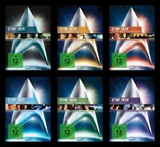 Star Trek RAUMSCHIFF ENTERPRISE Kinofilm Collection CAPTAIN KIRK 6 DVD Sammlung
