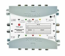 More details for triax tdscr 504 dscr sky q multiswitch, 5 inputs, 4 outputs 318182