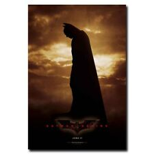 Batman Begins 24x35inch Super Hero Movie Silk Poster Hot Room Door Decal
